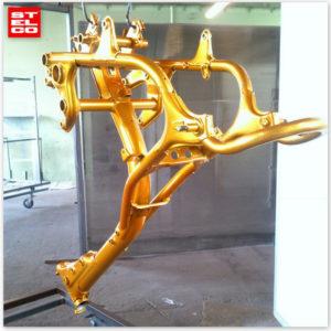 Rama złota moto lakierowan proszkowo
