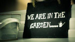 farby proszkowe w ogrodzie